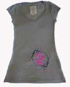 EF Womens Shirt Light Grey